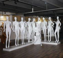 의류 상점가를 위한 제조자 형식 매트 백색 여성 마네킹