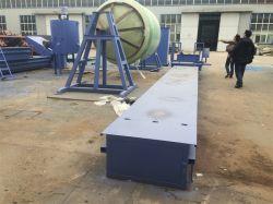 ガラス繊維によって補強されるプラスチックFRP縦の貯蔵タンクの巻上げ機械