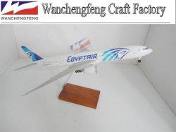 ランディングギヤーが付いているエジプトの空気B777-300平らなモデル