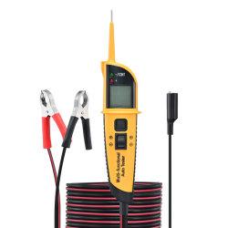 12/24V 차량용 전원 테스터 프로브 회로 테스터, DC/AC 디지털 디스플레이, 비접촉식 차량용 전원 테스터(LED 디스플레이 포함), 차량용 전기 회로 테스터
