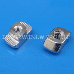T tuercas M4 M5 M6 M8 de la tuerca de ranura en T Cabeza de martillo la tuerca de fijación de perfiles de aluminio