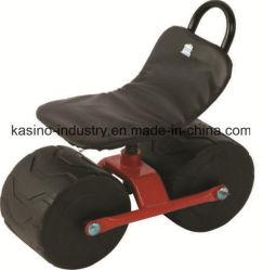 Jardín Light-Weight asiento rodante Carro con ruedas vacía