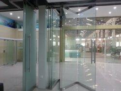 쇼핑몰과 사무실을 위한 이동식 무프레임 유리 벽