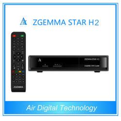 HDTV 수신기 Mheg-2/4 H. 264를 가진 DVB-S2+DVB-T2 인공 위성 수신 장치 Zgemma 최신 신제품 결합 별 H2