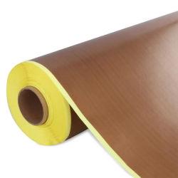Stick no tejido de fibra de vidrio recubiertas de PTFE Cintas adhesivas