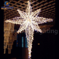 Dekoration im Freien Weihnachten Schmuck LED String Star Light für Weihnachtsdekoration mit CE RoHS