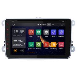Android 4.4.4 OS écran HD de 2 DIN Voiture Lecteur de DVD pour VW avec GPS, radio, WiFi, écran tactile capacitif, Canbus+carte gratuite