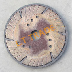 ダイヤモンドセグメントのためのグラファイト型はの鋸歯、粉砕車輪を