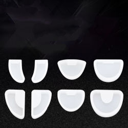 [دنتل متريل] [سليكن روبّر] إنطباع صينية قاعدة أسنانيّة مختبرة نموذج قاعدة سابق