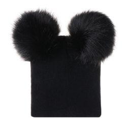 Baby Winter warm Knit Hat Peuter Peuter POM POM Beanie Fotografie Fur Ski Cap Esg13426