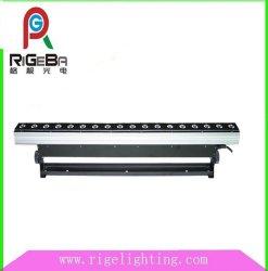18pcs*10W à LED lumière intérieure de l'étape de la rondelle du mur du bâtiment