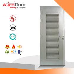 A fresta de metal Grill ventilador de fluxo de ar de porta corta-fogo de aço com certificação UL