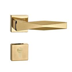 Casa de banho principal definir a fechadura de porta lateral duplo