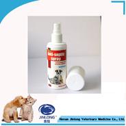 Spruzzo animale della ferita di trattamento disinfettante chirurgico del cane dell'animale domestico