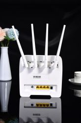 4G LTE CPE routeur WiFi de la carte SIM 300m Cat4 32 utilisateurs routeur WiFi RJ45 LAN WAN Indoor 4G routeur WiFi