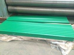 Papelão Ondulado Prepainted PPGI revestido a folha de cobertura de aço galvanizado