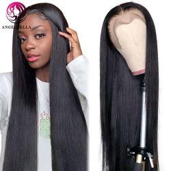 All'ingrosso trasparente HD completo pizzo Wig capelli vergini brasiliani economici Wig 100% naturale pizzo umano capelli frontale Wig Per donne nere