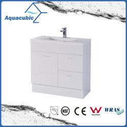 La vanité de 30 pouces Cabinet avec le Poly bassin en blanc (ACF750)