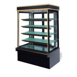 عرض تجاري ثلاجة كعكة عرض 3 طبقات طول الزجاج المسخن
