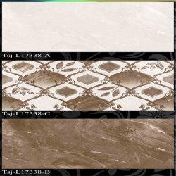(Tsj-L17338) Brown Color Inkjet tuiles mur