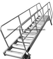 Passerelle en acier inoxydable aluminium Marine l'étape des échelles