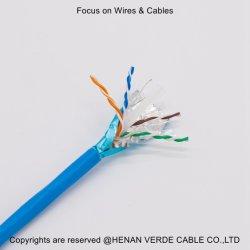 UTP Cat5e FTP CAT6 Controle de comunicação do sinal da rede de cabos Ethernet Instrumento blindado de alto-falante de áudio cabo de dados