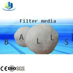 Planta de depuración de larga duración del filtro lavable a máquina de fibra de los medios de comunicación para la Piscina de bolas