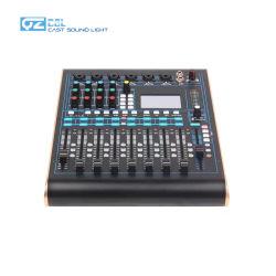 12-канальный цифровой звуковой микшер DJ микшерную консоль с iPad, IOS и Windows