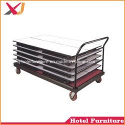 強いホテルの家具Steelcartか表のためのトロリーか椅子または手荷物または荷物またはガラスの表または衣服
