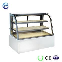En marbre de haute qualité un dégivrage automatique réfrigérateur gâteau Cas d'affichage (RL760A-M2)