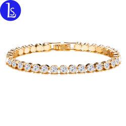 Neues einzelnes Reihen-Armband-römisches Kristalldiamant-Armband der Ankunfts-2020