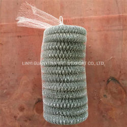 Metalldraht-Potenziometer-Reinigungsapparat-Kugel verwendet vom Edelstahl