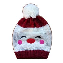 Леди снежную бабу вышивка Xmas зимняя фэшн теплый Red Hat винты с головкой