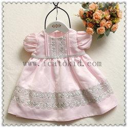 1歳のフロックデザイン服の赤ん坊の衣服の服