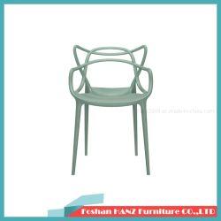회의 의자를 식사하는 파란 플라스틱 호텔 가구 대중음식점