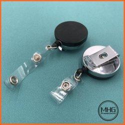 Heavy Duty Clip para cinturón fuerte insignia metálica tambores