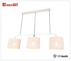 Moderne Innen-/Innenarchitektur-weißes MetallPenant Lampe (H-3662-3R-WH)