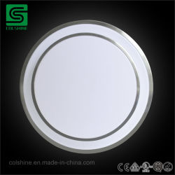 Round LED interior na luz de tecto de montagem embutida para sala de estar