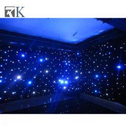 Stadiums-Beleuchtung drapieren neues LED-buntes Stern-Vorhang-Licht-Gewebe