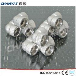 Toma de aleación de níquel de la soldadura racor codo (B619 Uns N10665, Hastelloy B2).