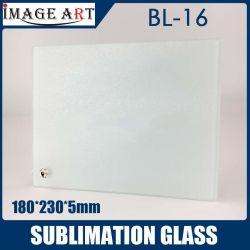 Bl-16 Sublimação Vidro Moldura Fotográfica em branco 180*230*5mm