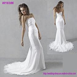 Eco-Friendly 인어 결혼 예복 신부 드레스