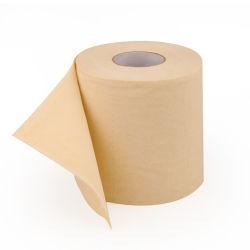 preço de fábrica de fibra de bambu 100% virgem Papel higiénico