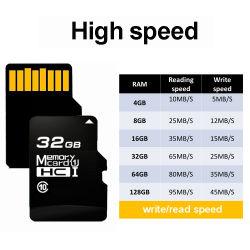 prix d'usine C10 haute vitesse de la carte mémoire Micro SD pour la caméra 64 GO 8 GO de 32 Go de 128 Go