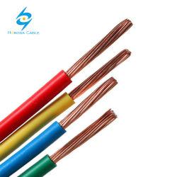 Bâtiment utilisé cuivre PVC ou le câble électrique isolé en nylon