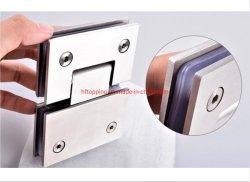 Acero inoxidable Baño Ducha Accesorios Hardware Bisagra de puerta de cristal / Vidrio abrazadera