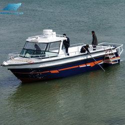 Bateau neuf 9.6m/32FT Navire de pêche en aluminium de travail Cargo