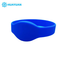 Manchet van het Silicone van de Band NFC Passieve MIFARE Klassieke 1K RFID van het Systeem van het Toegangsbeheer de Waterdichte