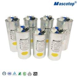 Алюминий 370/440V раунда конденсатор с высоким качеством