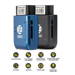 Tk206 OBD2リアルタイムGPS/GSM/GPRSの能力別クラス編成制度の手段車GPSの追跡者